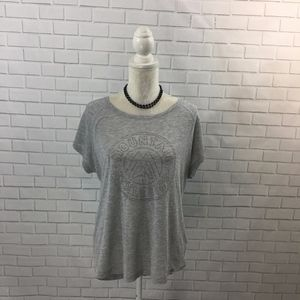 Heather Grey Drop Shoulder The North Face T-shirt